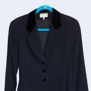 "Black mid-waist ""Ann Tjian"" for KENAR Jacket"